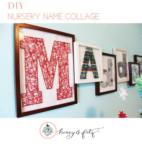 119 best string art images on pinterest string art deer and dyi nursery name collage solutioingenieria Images