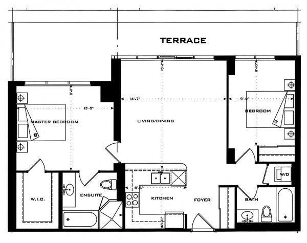 23 best plan appartement 60m2 images on pinterest floor plans architecture and house blueprints. Black Bedroom Furniture Sets. Home Design Ideas