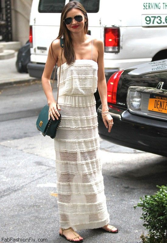 Miranda Kerr street style with maxi dress  Be featured in Model Citizen App, Magazine and Blog.  www.modelcitizenapp.com