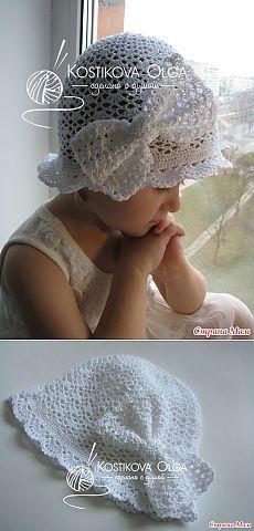 Вяжем вместе роскошную белоснежную шапочку с авторским бантом - Вяжем вместе он-лайн - Страна Мам