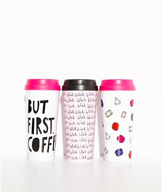 hot chocolate or hot apple cider? it's all good because you've got a ban.do hot stuff thermal mug.