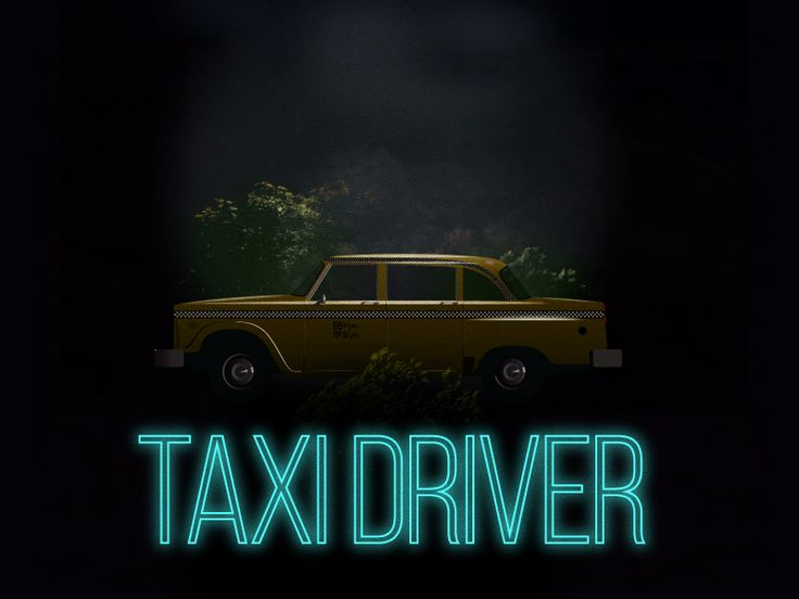 I recently watched It Follows and Taxi Driver. I LOVE the It Follows poster and thought it would be fun to do a crossover between the two. I created this in Illustrator CC - hope you like it!