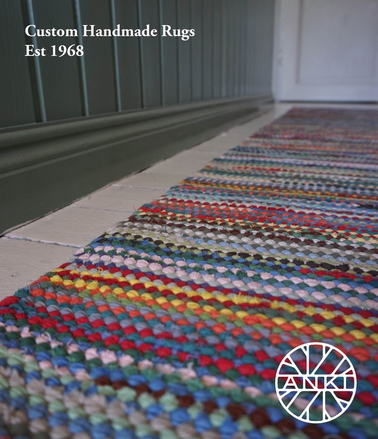 ANKI Rugs' design Rasti in Multicolor version. A traditional yet modern rug for your home