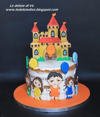 Le Delizie di Ve: ASILO NAKED CAKE