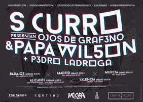 EVENTO: 28-2-2014 en San Vicente Raspeig, Alicante: S Curro & Papa Wilson + Pedro Ladroga