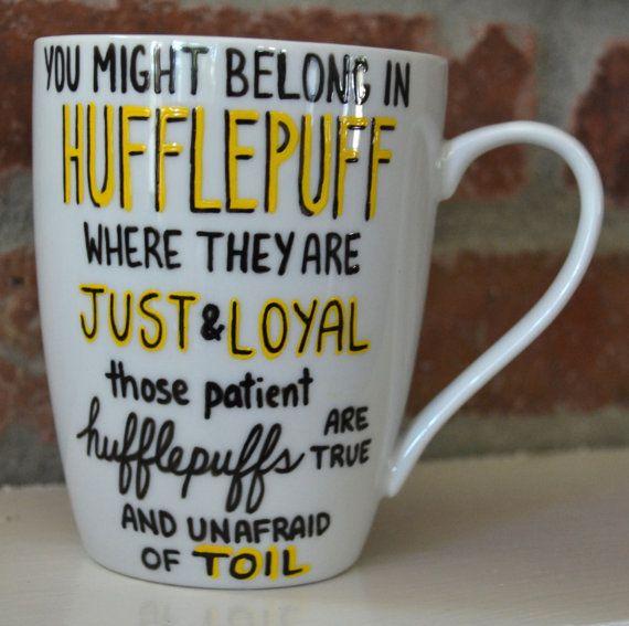 Harry Potter Gryffindor House Mug Sorting by GirlAfterMyOwnHeart