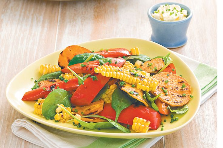 This tasty vegetable salad is the perfect side dish for a family get-together.