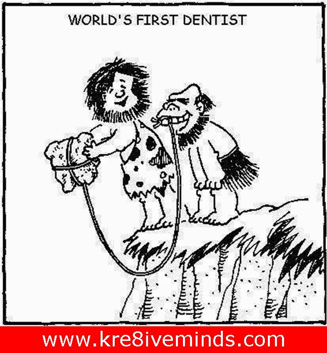 You know, we have a really talented creative research team whose interest in pre-historic times need a genuine acknowledgement! Check out our Research- Input's latest findings on the world's first dentist! http://www.kre8iveminds.com/