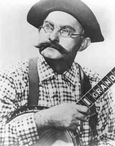 """Country music legend and star of campy 1970s television show """"Hee Haw"""", Grandpa Jones.  Well, he's not really a hero per se, but I think he is pretty darn cute!"""