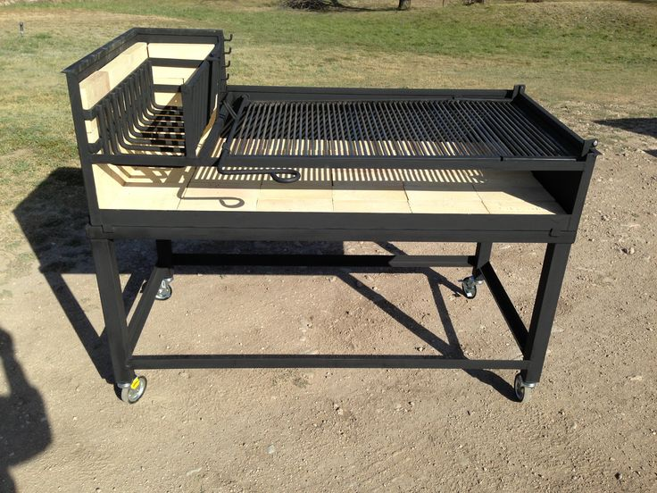 "NorCal Ovenworks Inc. Large Uruguayan Grill, 54"" X 27"". An Authentic Latin American barbecue grill costing only $1150.00"