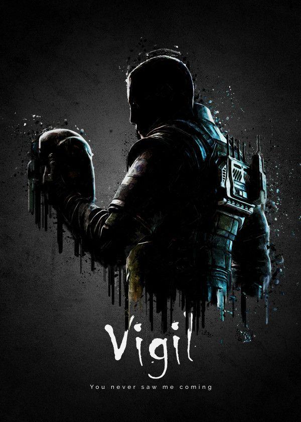 Zofia Gaming Poster Print Metal Posters Rainbow Six Siege Art