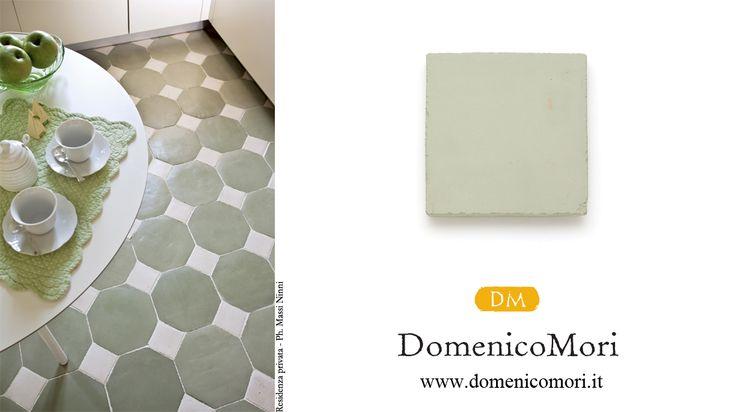 """Paste clay tile – light green """"SALVIA"""""""
