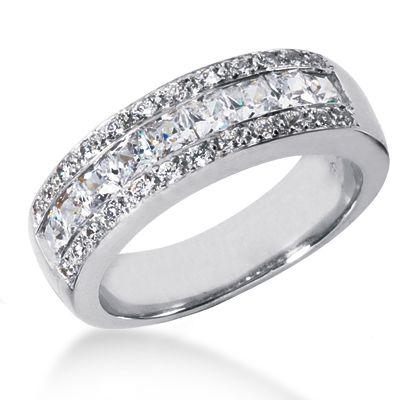 platinum women s diamond wedding ring. Black Bedroom Furniture Sets. Home Design Ideas