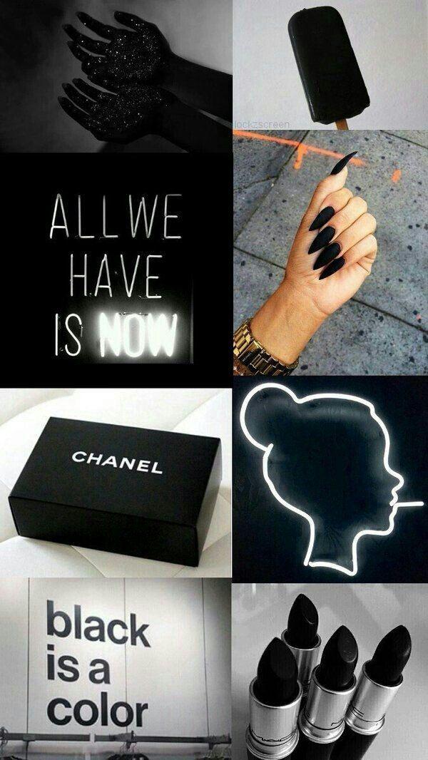 Pin by Dua Ëva 🖤🥀🐼 on black | Black wallpaper iphone ...