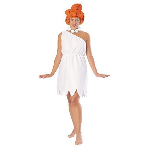 Ladies Wilma Flintstone Fancy Dress Costume Medium | eBay