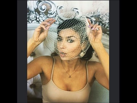 Tips & Tricks for Styling  Keeping Birdcage Veil in Place with Leslie Li - YouTube