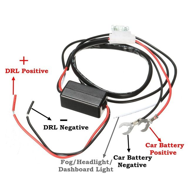 12v 2a Car Led Drl Relay Daytime Running Light Relay Harness Auto Car Controller On Off Switch Parking Light Review Car Led Running Lights Car