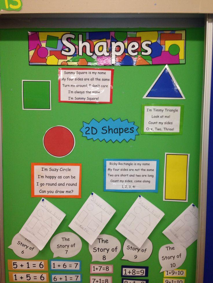 2D shapes senior infants :)