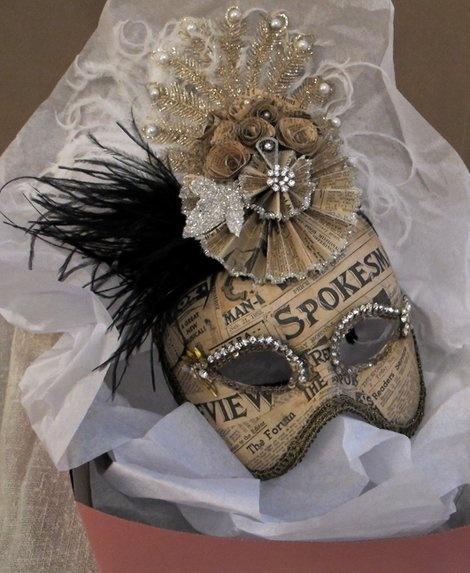 Vintage Masquerade - Treasure Hunting - Spokesman.com - March 12, 2012
