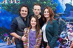 NLD/Amsterdam/20140413 - Inloop Filmpremiere Het Magische Huis, Marco Borsato met partner Leontien en zoon Luca en dochter Jada (Edwin Janss...