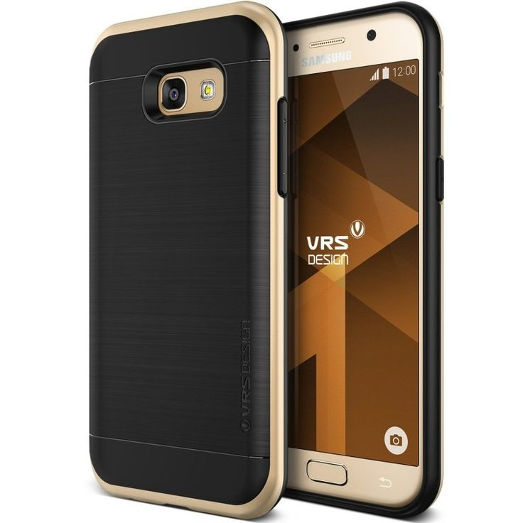 VRS Design High Pro Shield Case for Samsung Galaxy A5(2017) - Shine Gold  #Premium_Quality_Cases #luxury_design Buy yours @ 👍 #Agorashop