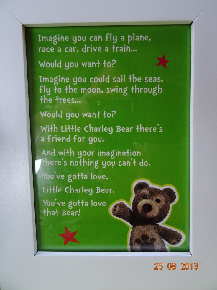 Our charley bear table sign - by I Make Jelly