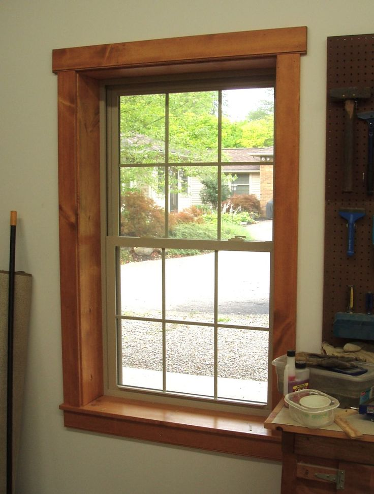 Love the proportions of this window trim ours will be - What type of wood for exterior trim ...