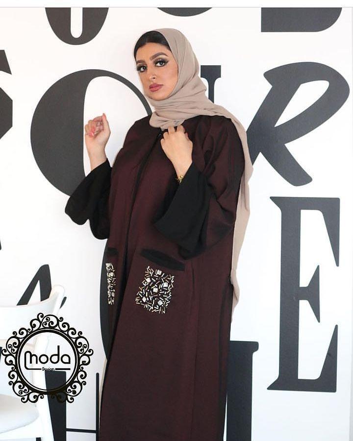 6f61b9673 Pin by اشواق الجهني on ازياء | Fashion, Dubai fashion, Abaya fashion