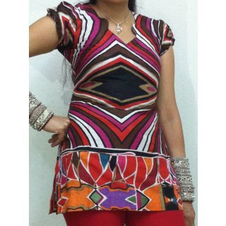 Multi Colored Tunic By Gossip Fashion + 11% off @ shopclues