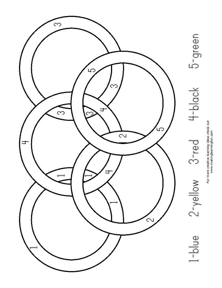 Printable Olympic Coloring Pages | Olympic rings coloring page - Coloring Pages & Pictures - IMAGIXS
