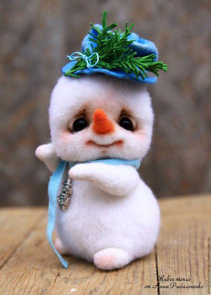 Купить Снеговичок Фрости - белый, Новый Год, зима, снеговик, снеговичок, снеговик игрушка