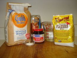 whole wheat pizza dough recipe ingredients