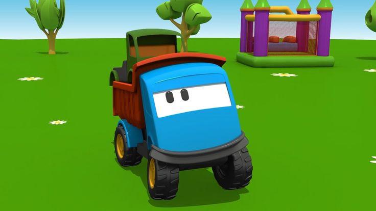Leo il Camion Curioso e Il Camion Cisterna - Cartoni animati per bambini