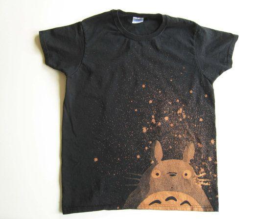 Totoro t-shirt (women's small). $30,00, via Etsy.