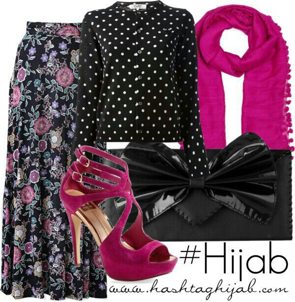 Dots with floral