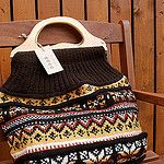 Hand Knit Bag by SandraStJu