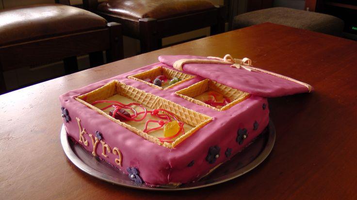 Jewel case pie / Juwelenkist taart