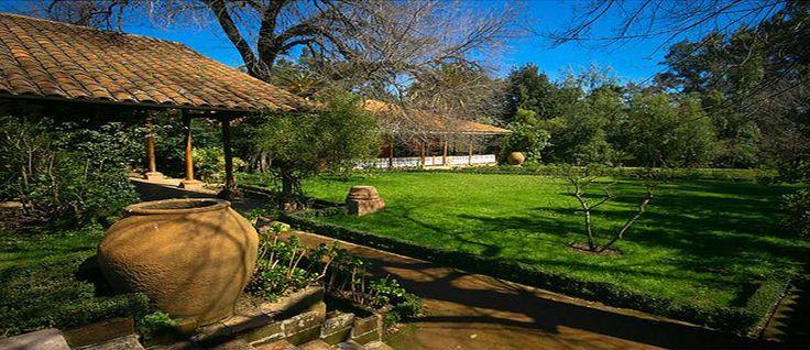 Hacienda Los Lingues in #Colchagua Chile - #Pinterest-Colchagua-Tours-Hotels