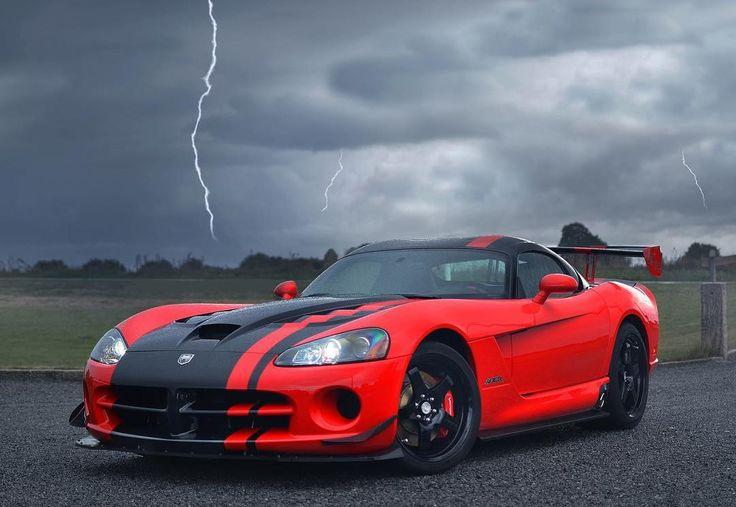 Bring the thunder. (: Andre M.) #ThatsMyDodge #Dodge #Viper #DodgeViper #ACR…