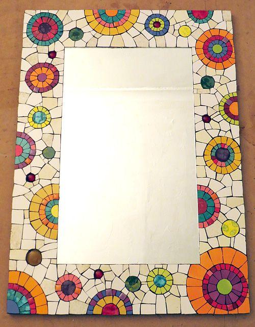 Las 25 mejores ideas sobre mosaicos en pinterest for Mosaicos para espejos