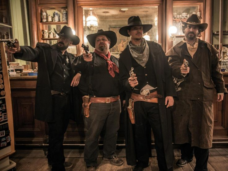 Photo Op at Bird Cage Theatre - Ghost Adventures: Return to Tombstone Pictures - TravelChannel.com