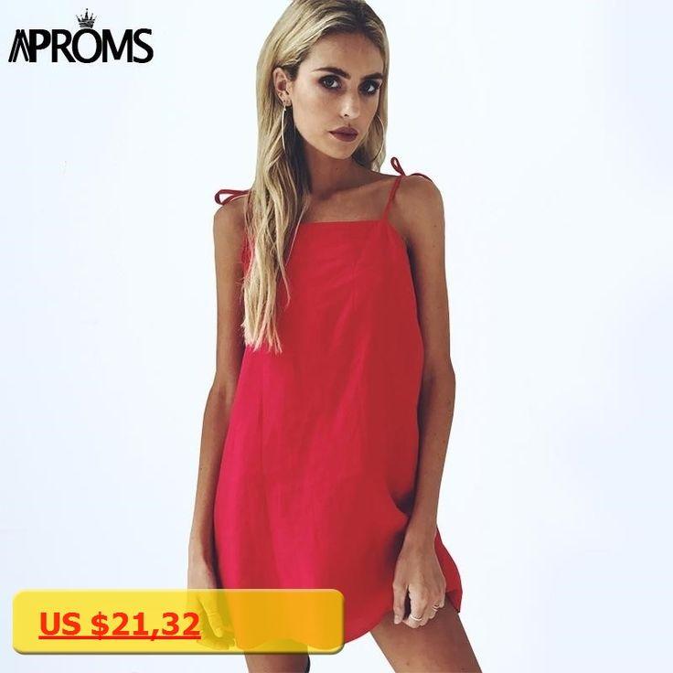 Aproms 90s Low Back Summer Dress Elegant Tie Up Shoulders Sundresses Women Slim Bodycon Dresses Yellow Short Dress Vestidos