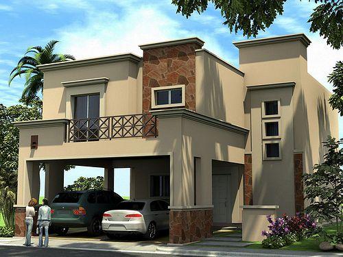 Las 25 mejores ideas sobre frentes de casas modernas en for Frentes de casas pintadas