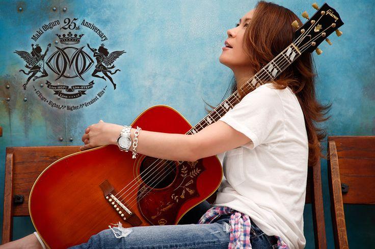 大黒摩季 公式 WEB SITE  ~cover photo by CANNO(CAPS)  ・http://www.maki-ohguro.com/anniv25/ ・http://www.maki-ohguro.com/anniv25/