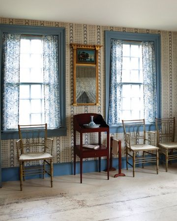 Among The Most Highly Valued Antiques On Display Is Period New England Furniture