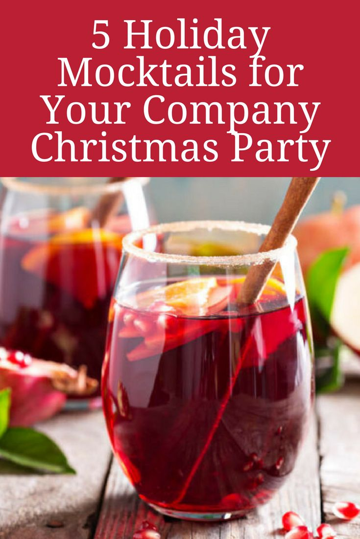 Christmas Party Planning Ideas Part - 26: With These Tasty Mocktails, Your Coworkers Wonu0027t Even Miss The Alcohol! Try