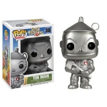 Funko pop movies tin man vinyl figure bring the magic of wizard of oz to your desk with this pop movies tin man figurine standing at 4 tall and made of