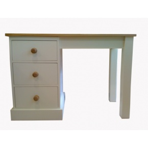 Portchester Pine Painted with Oak Top Dressing / Writing Table  www.easyfurn.co.uk