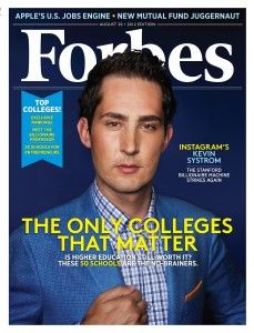 Instagram's Kevin Systrom: The Stanford Billionaire Machine Strikes Again