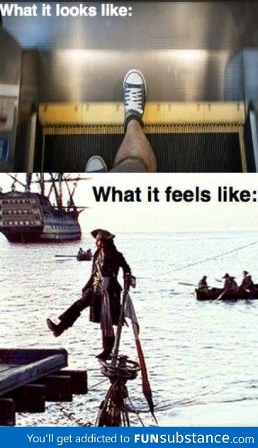 I love Johnny Depp as Jack Sparrow<--There should be a Captain in there somewhere.